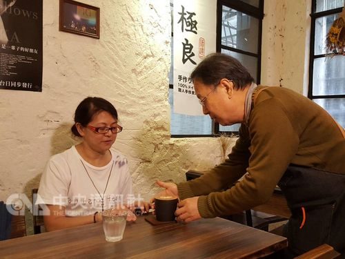 Chang Hung Cheng working with dementia in Taipei