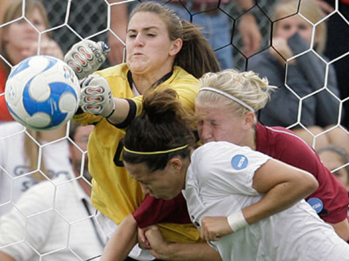 Concussion of women's soccer players