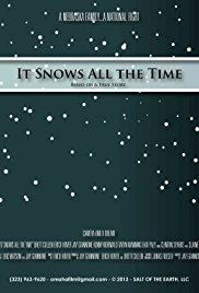 It snows all the time -poster