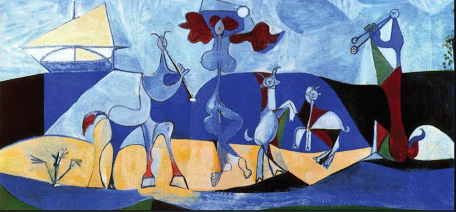 Pablo Picasso joy of life1946