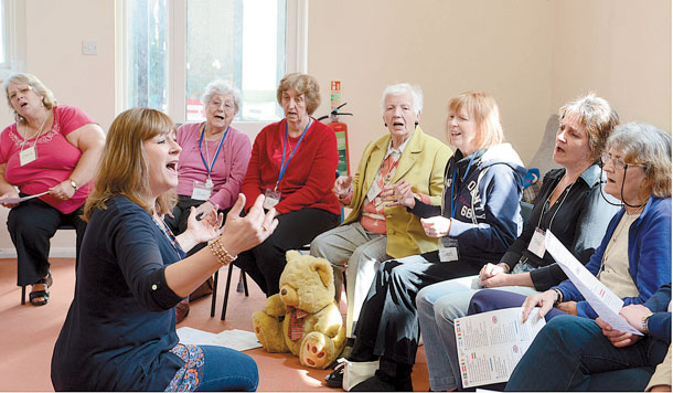 SingingForDementiaSufferers