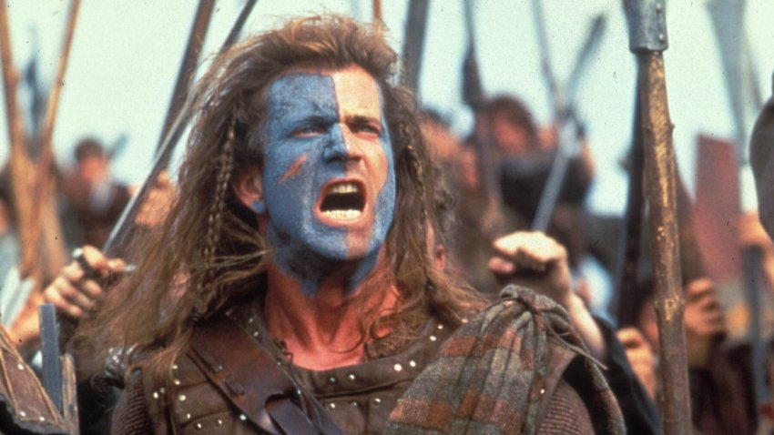 braveheart aggressive violent