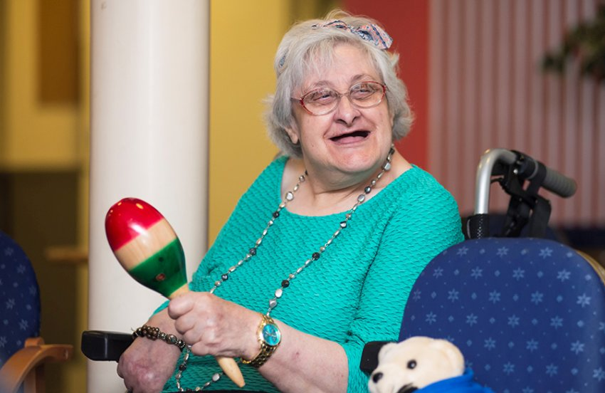 dementia patient in care home
