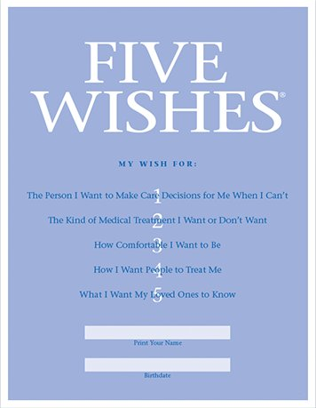five wishes advance directive