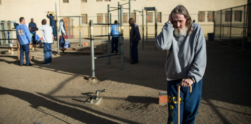 inmate of california prison Andrew Burton GettyImages