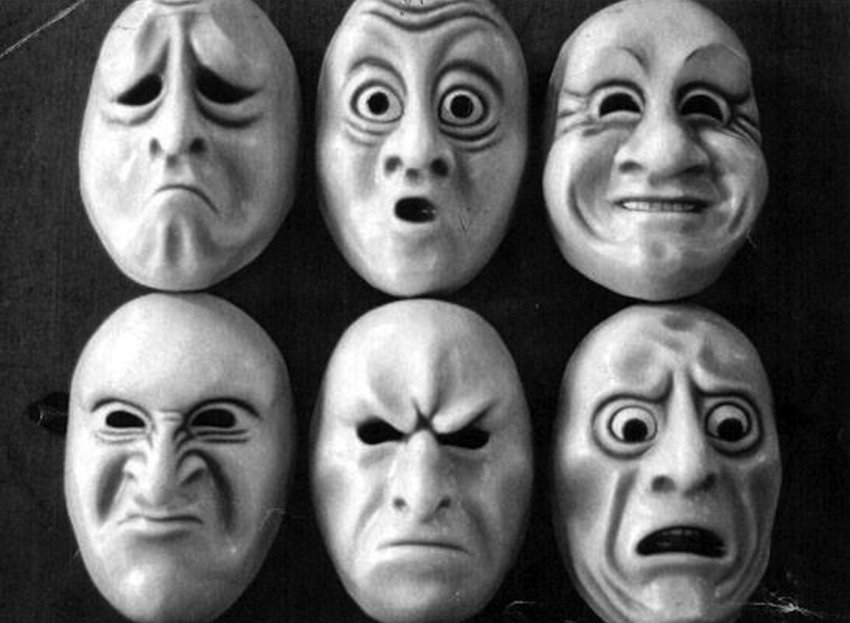 masks of moral amotions