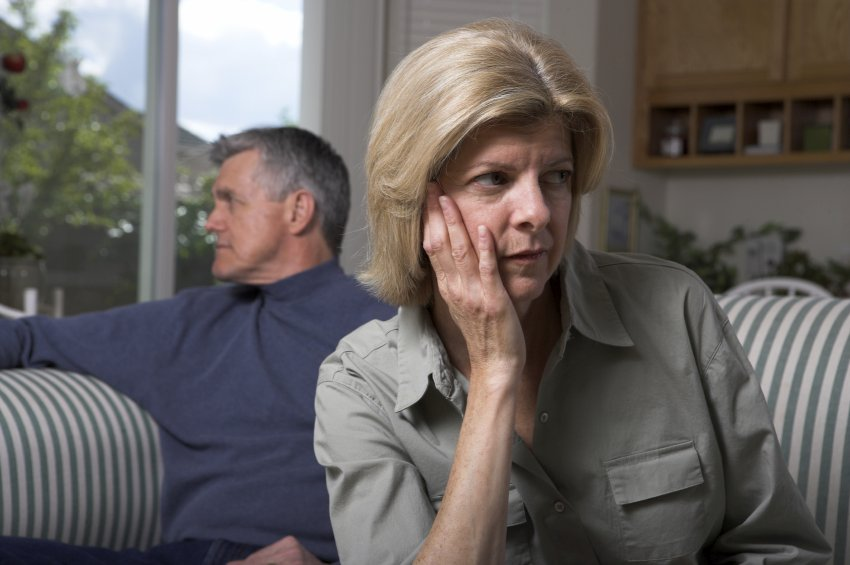 older couple conflict resentment