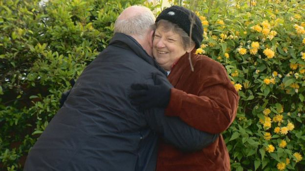 peter hugs wife with dementia
