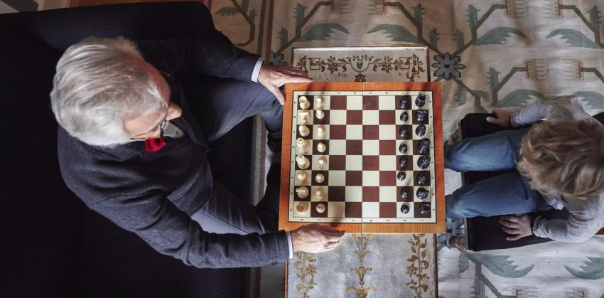 playing chess after retirement